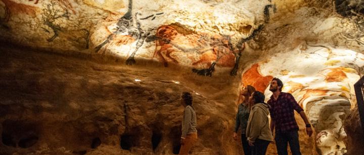 Grotte de <br>Lascaux